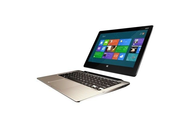 ASUS announces line of Windows 8 Transformer Books, laptops with detchable touchscreens.