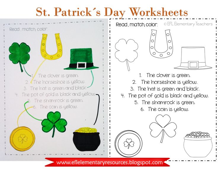 St. Patrick´s Day image by EFL Preschool and Elementary T