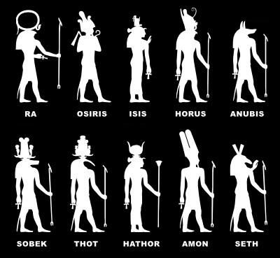 Egyptian  Gods-mythology... This is creepy considering I started reading a book YESTERDAY on these guys