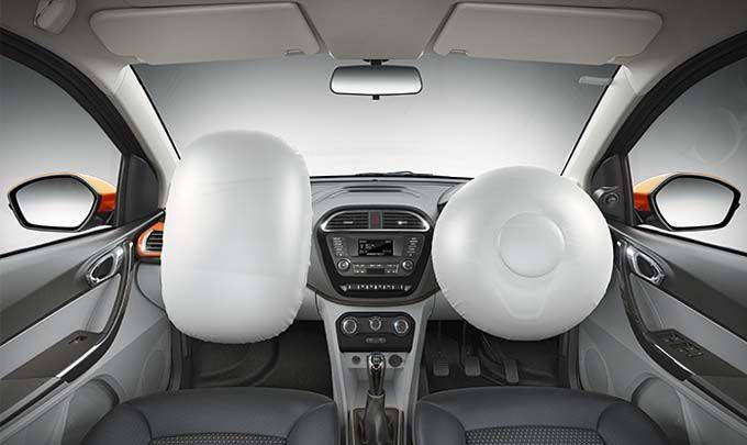 tata tiago interior airbags