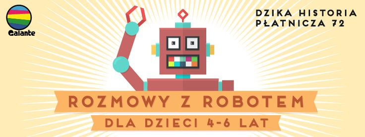 """Promo for our class  for kids """"Talk to a robot"""""""