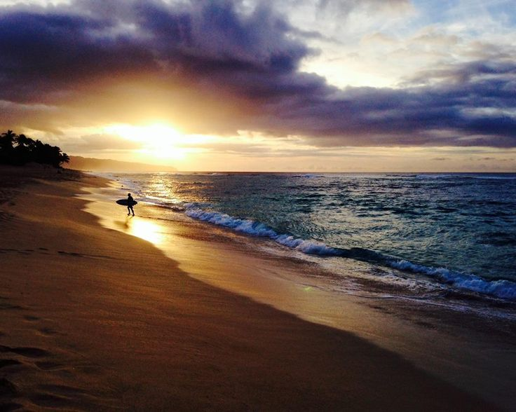 Can't wait to visit again. Planning our trip next year has me so excited.  Sunset Beach Oahu Hawaii