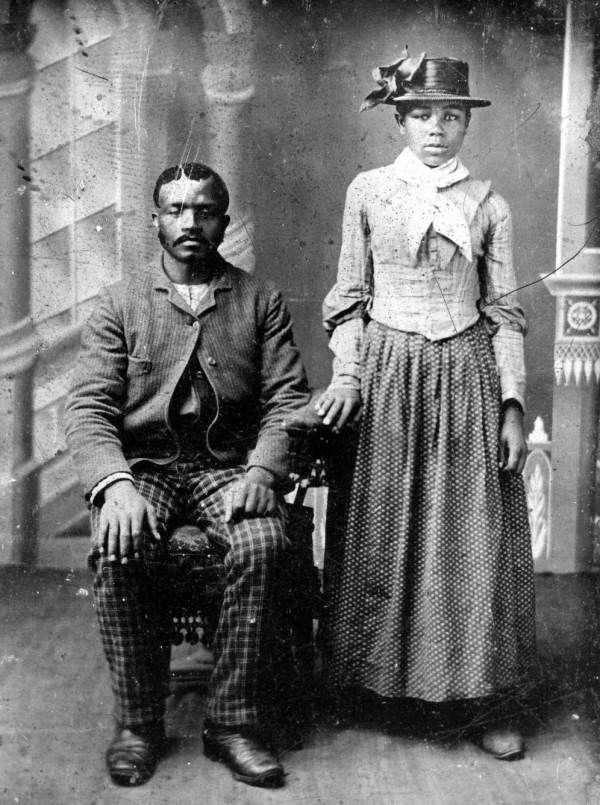 True Romance | 1880s | Vintage Black Love Series- African American couple (name unknown), circa 1880s. State Archives of Florida, Florida Memory.(www.floridamemory.com).Looking for something? Browse Black History Album's archives (click here).Find Black History Album on Pinterest | Tumblr | Twitter | Facebook.