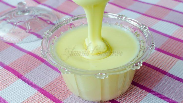 Reteta Lapte condensat - JamilaCuisine