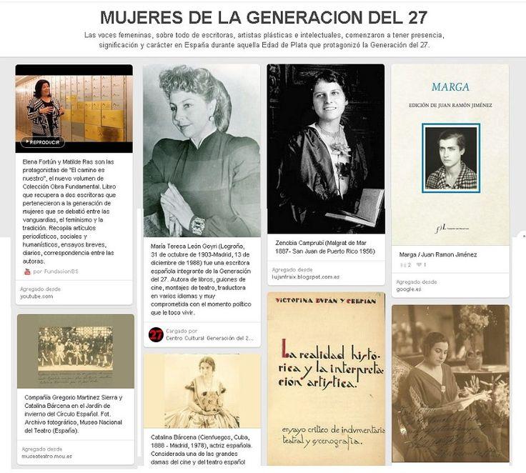 8 de marzo. Día de la Mujer. Las voces femeninas, sobre todo de escritoras, artistas plásticas e intelectuales, comenzaron a tener presencia, significación y carácter en España durante aquella Edad de Plata que protagonizó la Generación del 27.