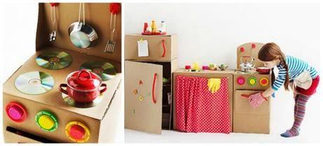 Mobili di cartone per bambini
