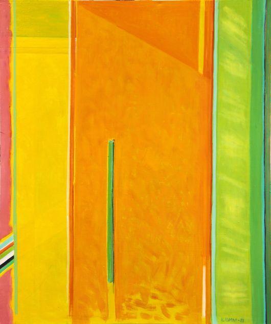 Urpu Ilasmaa, In shade, 2013  Oil, 120x100  www.clikdesign.fi/ilasmaa
