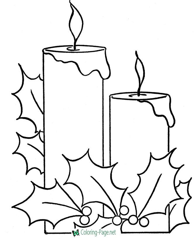 Christmas Coloring Pages Christmas Pictures To Color Christmas
