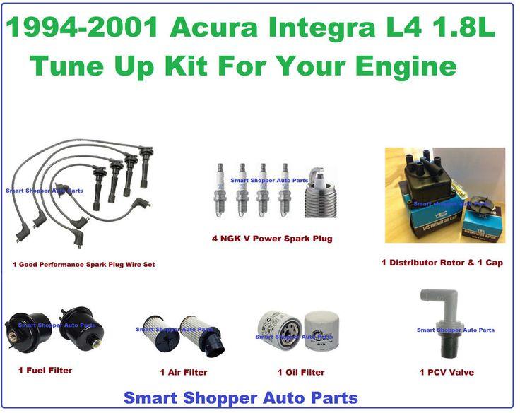 9401 Acura Integra Tune Up Kit Spark Plug Wire Set