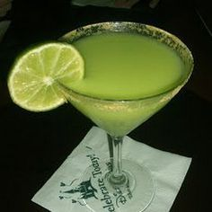 Pie?  Martini?  Who cares... drink up!  Key #Lime #Martini