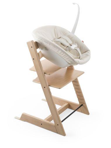 Tripp Trapp® Natural with Newborn Set Beige.