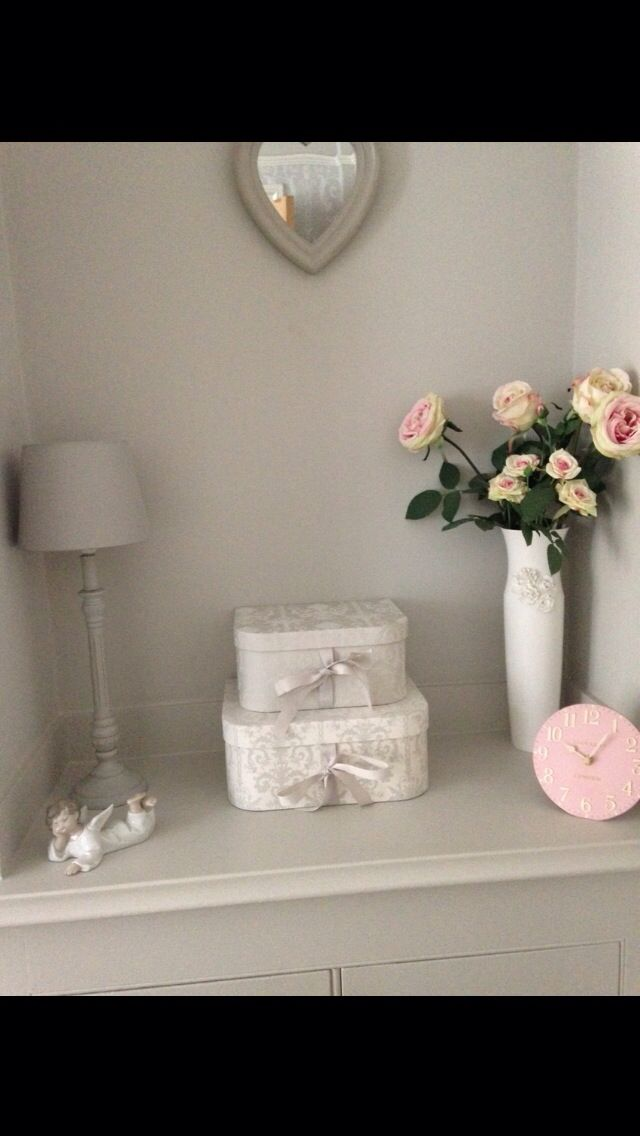 Laura Ashley dove grey boxes