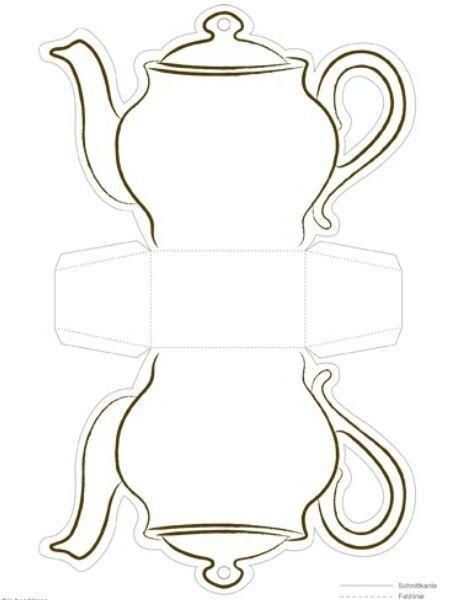 Afbeeldingsresultaat voor knutselen theepot