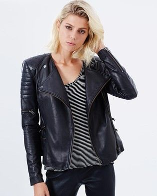 Buy Greenwich Street Motor Jacket by West 14th online at THE ICONIC. Free and fast delivery to Australia and New Zealand.