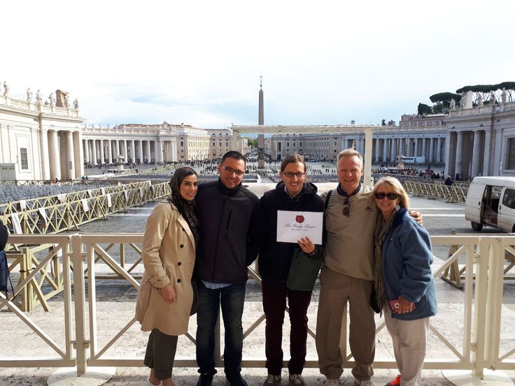 We are so glad our clients got this amazing view to end their Vatican tour! Our top-rated guide Davide took this photo with our clients on November 7th after a great tour in the Vatican museum where our clients got to see all the highlights of the museum and St Peter's Basilica! For more information on our Vatican and Sistine Chapel tours: www.livitaly.com/tour/early-entrance-vatican-small-group-tour/?src=pinterest