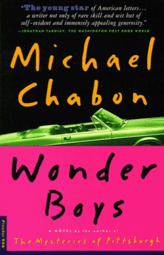 Wonder Boys by Michael Chabon http://www.amazon.com/dp/1561006262/ref=cm_sw_r_pi_dp_OcZVwb06SMYYN