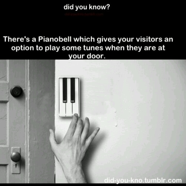I would go outside everyday and play my own doorbell