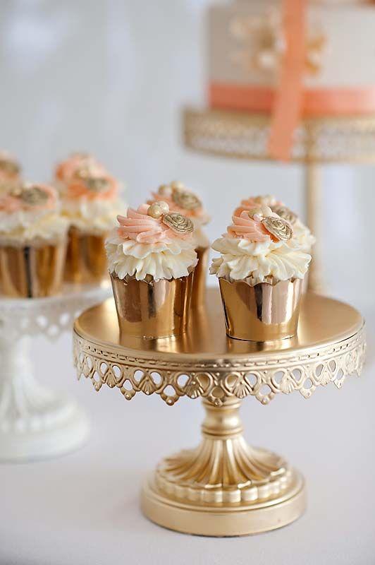 Romantic Mint Peach And Gold Wedding Ideas Wedding