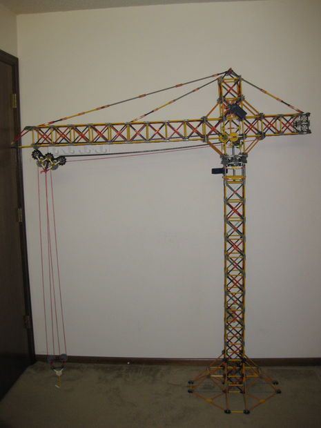 Picture of K'nex Tower Crane