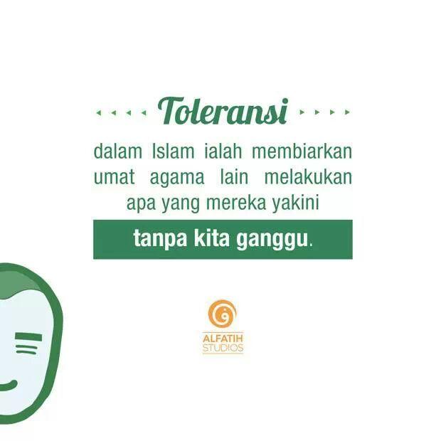 toleransi adalah -
