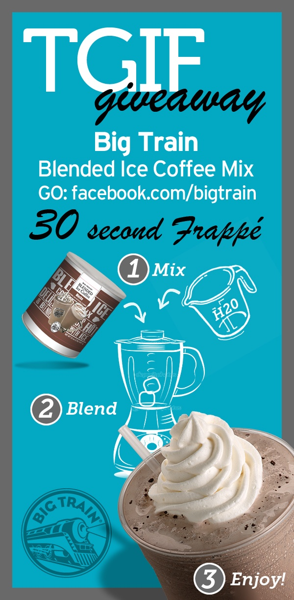 6/15/12: Happy Friday! It's heating up out there. Today only thought we'd give away some gourmet blended ice coffee frappe mix. Stop by our Facebook page to qualify. Have a great weekend!