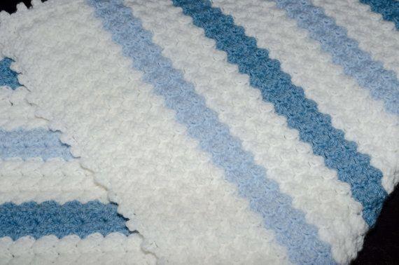 Baby Blanket crochet by LovelyBabycrochet on Etsy, $45.00