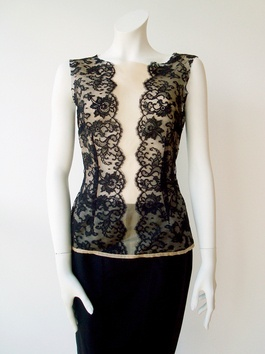 Black lace top by Lianga