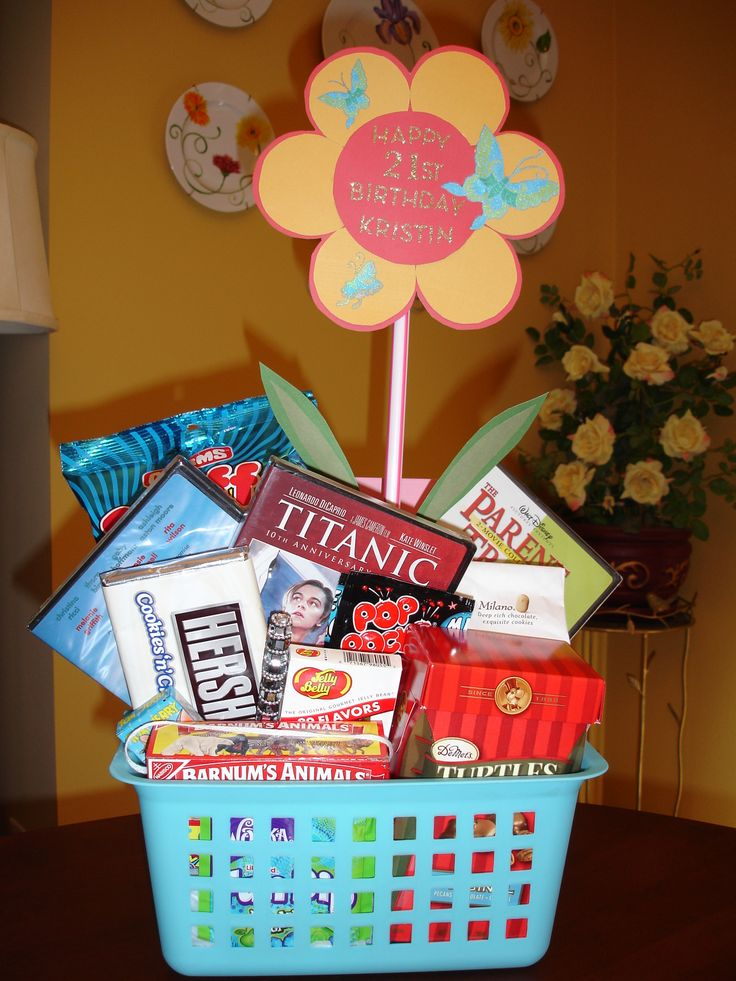 I Put Together This Basket For My Daughter39s 21st Birthday SaveEnlarge Christmas Gifts
