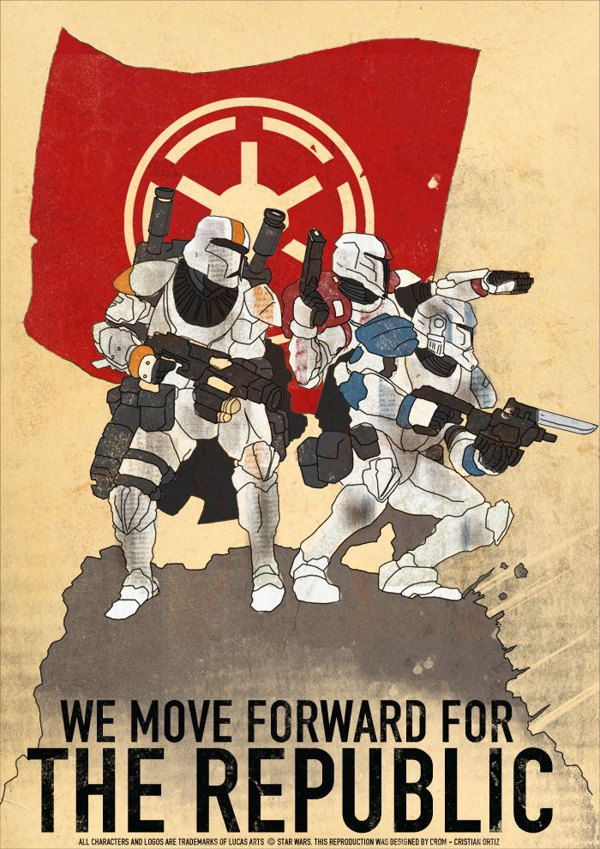 Star Wars: The Clone Wars - Cristian Ortiz