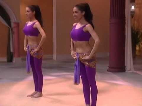 Танец живота для начинающих. Часть 2. Обучающее видео