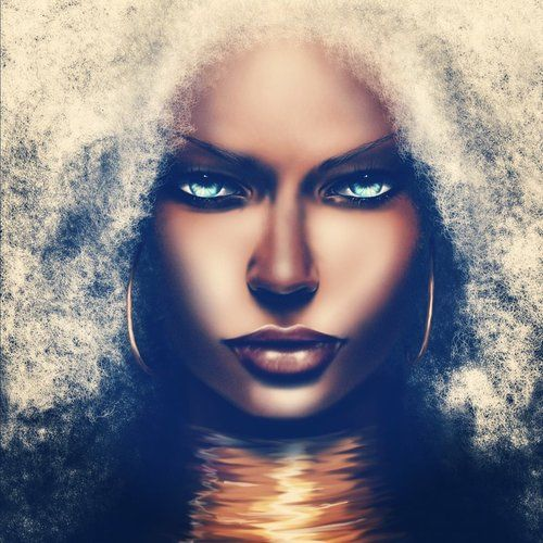 I LOVE this Storm interpretation by SoDesigns1 and actually happy that an african queen has kinky hair instead of straight. #nappystorm