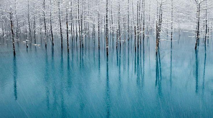 Blue Lake, Japan