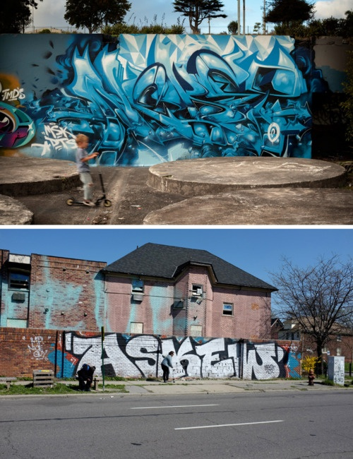 Best Graffiti Images On Pinterest Graffiti Ohio And Writers - This artists genius work interacts with the streets of new york