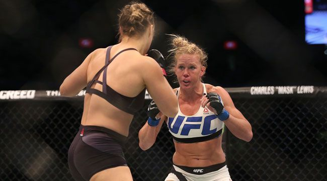 It doesn't matter how many times Holly Holm has to fight Ronda Rousey because she says she'll win every time.
