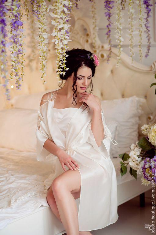 Купить Цветы Лотоса (комплект) - комплект, женское белье, свадебная коллекция, свадьба, утро невесты