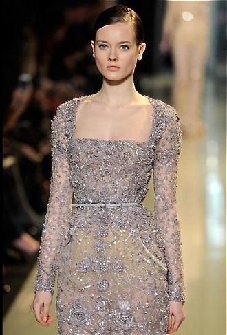 #Elie Saab - 2013 grey dress #2dayslook #greyfashion www.2dayslook.com