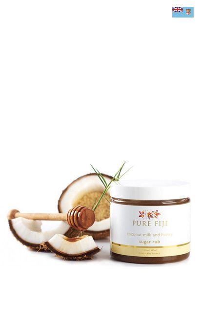 Pure Fiji - Coconut sugar rub. Body scrub. Made in Fiji.