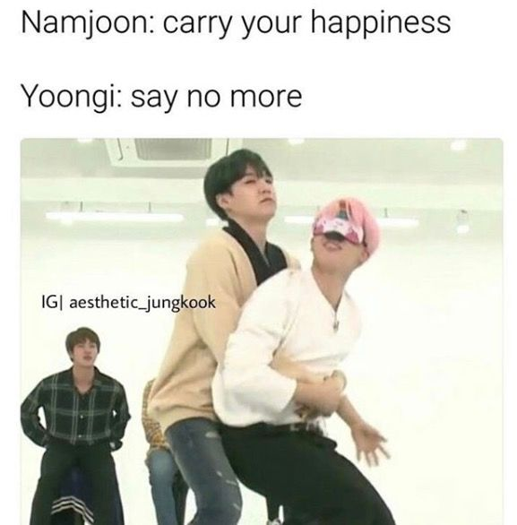 Yoonmin makes my insides all squishy and happy and I feel like there is hope for the world I love Yoonmin TvT