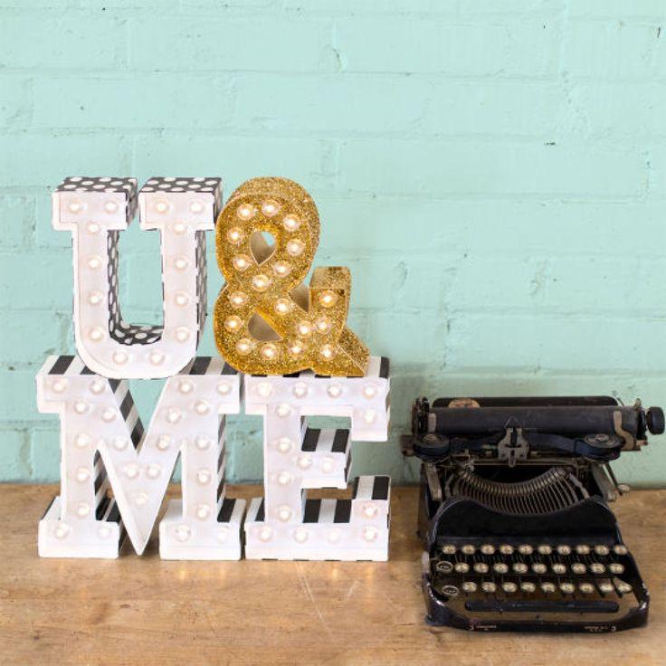 heidi swapp diy marquee love letter kit