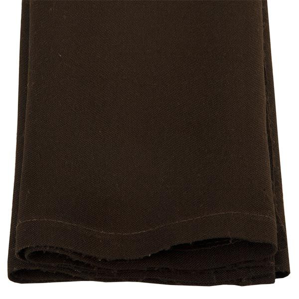 Brown Serviette. www.tableclothhiring.co.za