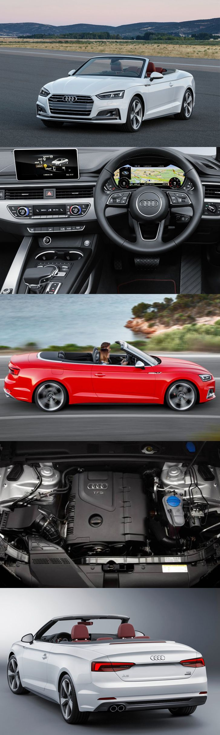 #Audi #A5Cabrio 2017 With Improved Specs and Engines Read full blog: www.enginecompare.co.uk/blog/audi-a5-cabrio-2017-improved-specs-engines/