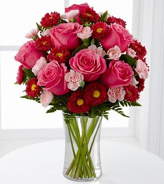 The Precious Heart™ Bouquet by FTD® - VASE INCLUDED- Deluxe #luckyleafluckyme