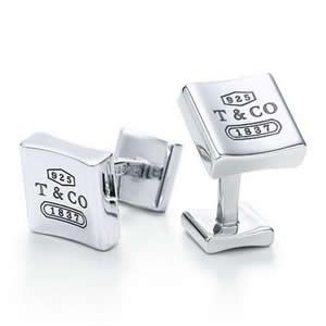 Tiffany and co Cufflinks 1837 Collection This Tiffany Jewelry Product Features: Category:Tiffany And Co Cufflinks Material: Sterling Silver Manufacturer: Tiffany And Co Wearing Tiffany Cufflinks can make a formal shirt become sophisticated, and is a great way for men to show off their glamour.Tiffany Cufflinks are an accessory that men don't often have to deal with.