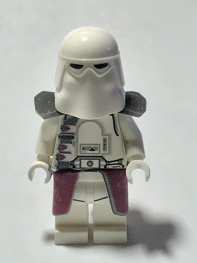 LEGO Star Wars Custom Cape Cloth 21st Nova Corps Galactic Marine Clone Wars