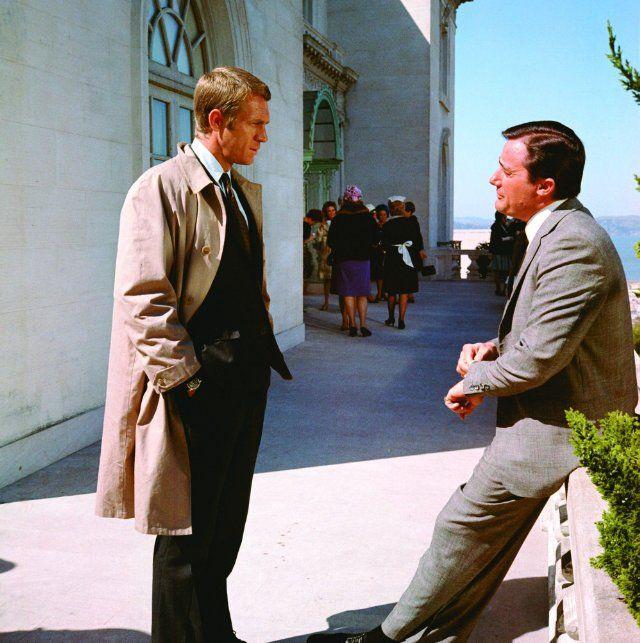 Still of Steve McQueen and Robert Vaughn in Bullitt