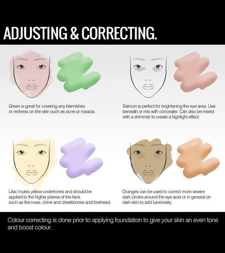 Color Correcting Let Makeup Colors