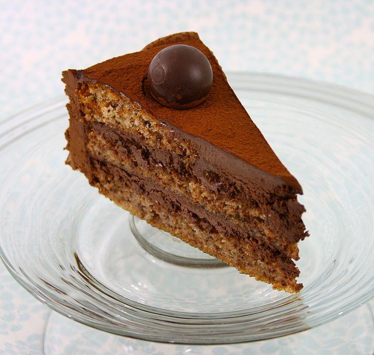 Tort cu nuca si ciocolata   gabriela cuisine - recipes