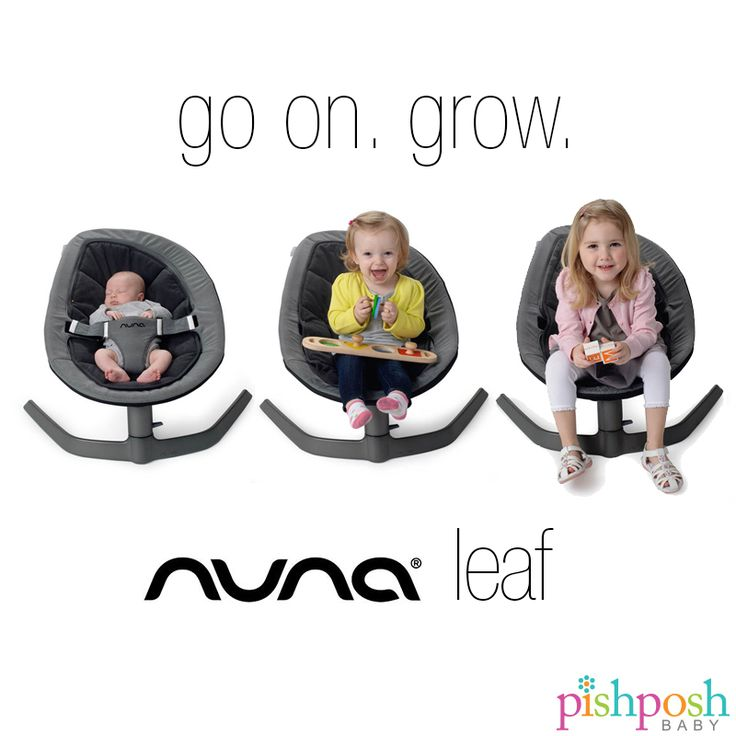 The Nuna leaf is not just for babies. It can safely hold 135 lbs - for reals…