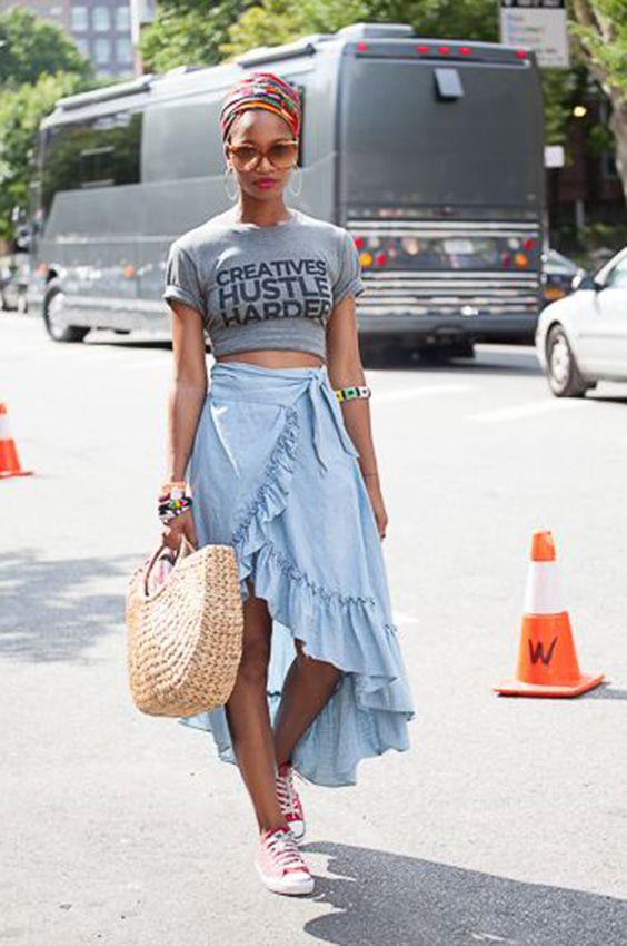 10 maneiras de usar saia envelope