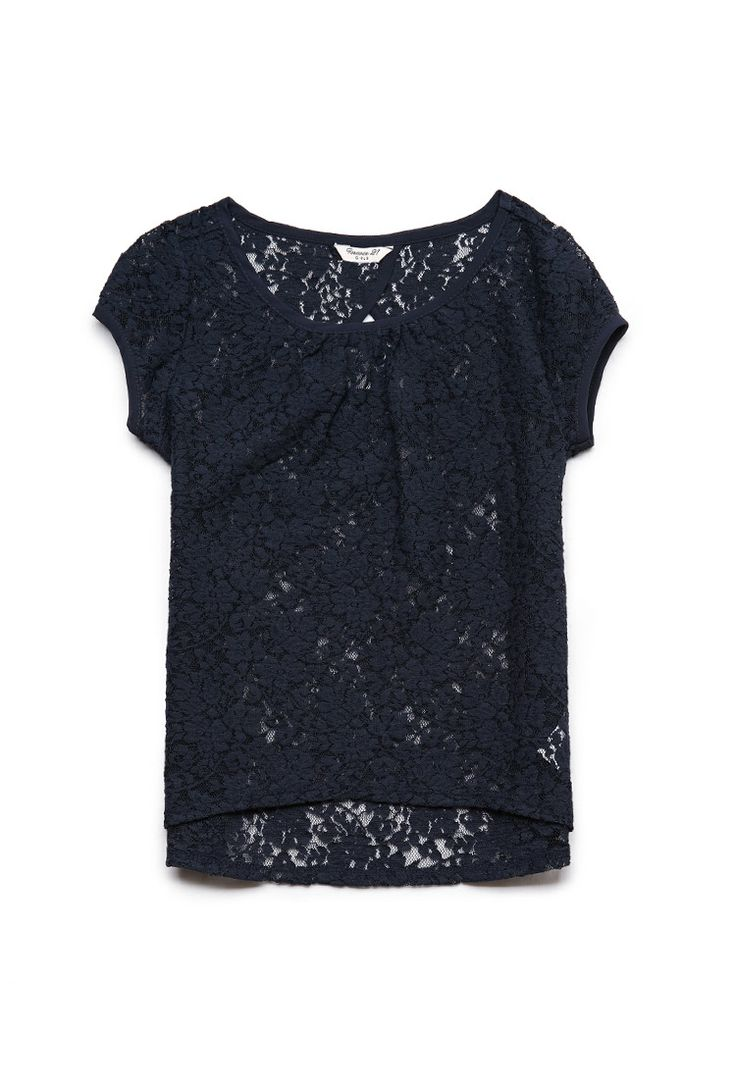 Lace Tee (Kids) | FOREVER21 #F21Girls